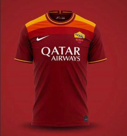 Maglia Roma 2020/2021: svelate le tre maglie giallorosse - FOTO-